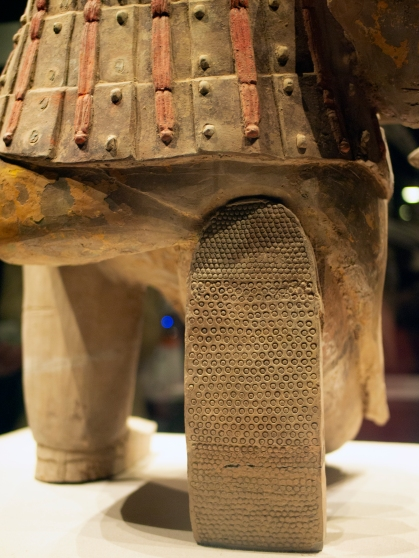 Terracotta Army Detailed Shoe Bottom